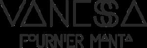 Logo vanessa fournier manta
